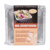 Barbecue Groentewok - 16x16 cm - 3 Stuks