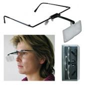 Lichtgewicht loep bril