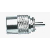 Coaxplug UHF PL voor RG213