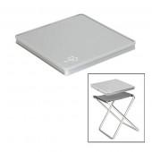 Bo-Camp - vouwkruk + tafelblad - Grijs
