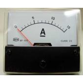 Paneelmeter 0-15Amp-gelijkstroom