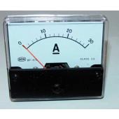Paneelmeter 0-30 Amp-gelijkstroom