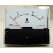 Paneelmeter 0-30Amp-wisselstroom