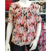 Dames blouse zalm