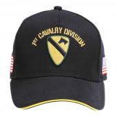 Baseball cap US Cavalry WWII 3D