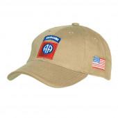 Baseball cap 82nd Airborne khaki