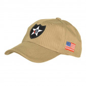 Baseball cap 2nd Infantry khaki