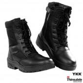 Pr. sniper boots with YKK zippe