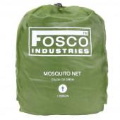 Fosco Muskietennet - klamboe 1-persoons groen