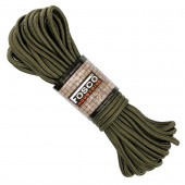 Touw 5 mm 15 meter lang nylon groen