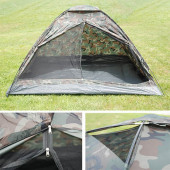 Tent camouflage 2 persoons 205x140x105cm