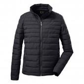 Killtec Casual functionele jas in donslook zwart