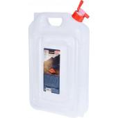Redcliffs Watertank Opvouwbaar Met Kraan 13 Liter Transparant