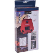 Redcliffs - Campingdouche met thermometer - 20 liter - rood
