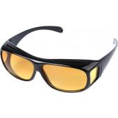 Overzet Nachtbril - Autobril / Mistbril - Nachtzicht Auto Bril - Dames / Heren