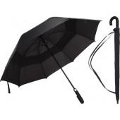 Excellent Houseware Paraplu Fiber 75 Cm Zwart