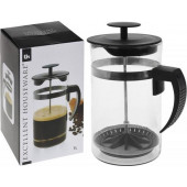 Koffiepot met Zuiger France cafetiere glas 1000ml
