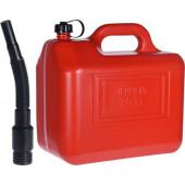 Benzine Jerrycan Met Trechter 20 Liter Rood