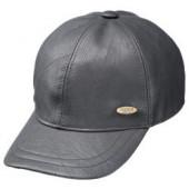 Fiebig Baseball cap lederlook bruin of zwart