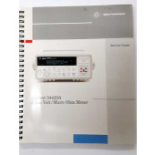 AGILENT 34420A manual