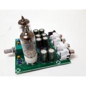 Audio voorversterker met 6J1