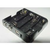 Batterij houder 4 x AA