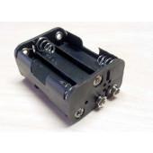 Batterijhouder 6 x AA per 10 stuks.