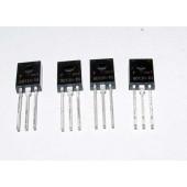 BD138 PNP transistoren, 4 stuks.