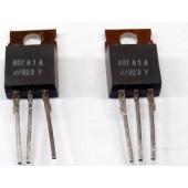 BDT61A darlington transistors