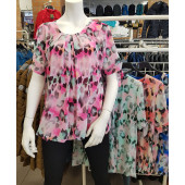 Dames blouse rose