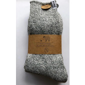 3 Pack  - Boru - Wollen Sokken grijs