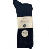 Lams wollen sokken 2 paar zwart