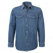 Brams Paris spijkerblouse - denim blouse - spijker overhemd