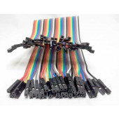 Breadboard flat cable. female-female