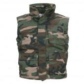Bodywarmer camouflage