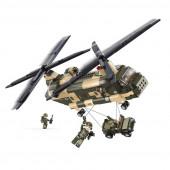 Sluban Chinook helicopter