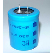 Elco 330uF-250volt   BC Components