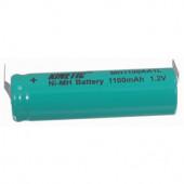 Accu Nimh 1100mAH, penlight soldeer