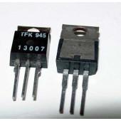 MJE13007 NPN transistor, 2 stuks