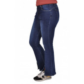 Super stretchy flared push up jeans