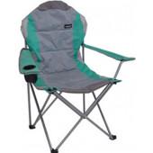 Campingstoel deluxe - Vouwstoel - Strandstoel - groen