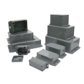 WATERBESTENDIGE ABS-BEHUIZING MET MONTAGEFLENS 115x65x55mm (G308MF)