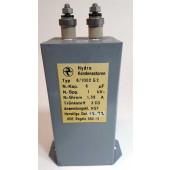 HYDRA olie-papier condensator 8uF-1Kv