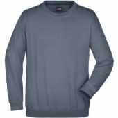 James & Nicholson sweater carbon grijs