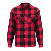 Joris overhemd gevoerd rood