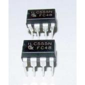 LM555N timer IC,s 2 stuks.