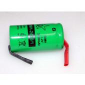 Nimh accu 1,2volt-2400mA met soldeerlippen