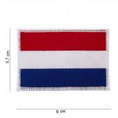 Embleem NL vlag 5 x 8 cm