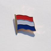 Embleem NL vlag metaal