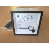 Paneelmeter 0-100Volt DC